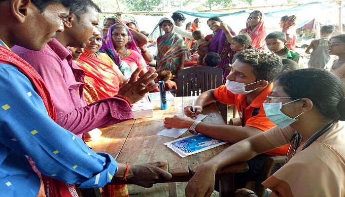 FLOOD DISASTER MEDICAL RELIEF CAMPS MOBILIZED BY CTF INDIA