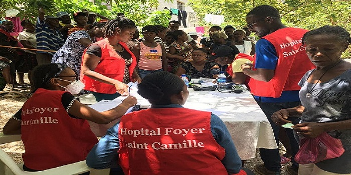 HAITI ONE MONTH AFTER THE EARTHQUAKE: THE INTERVENTION OF THE CAMILLIANS AND CADIS CONTINUES