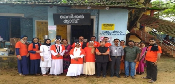 Kerala Flood emergency : report of the medical camps conducted on 13 August 2019