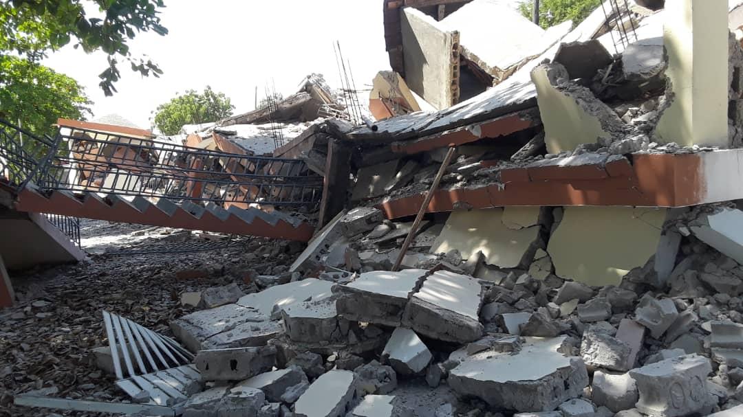 A 7.2 Earthquake Strikes Again in Haiti