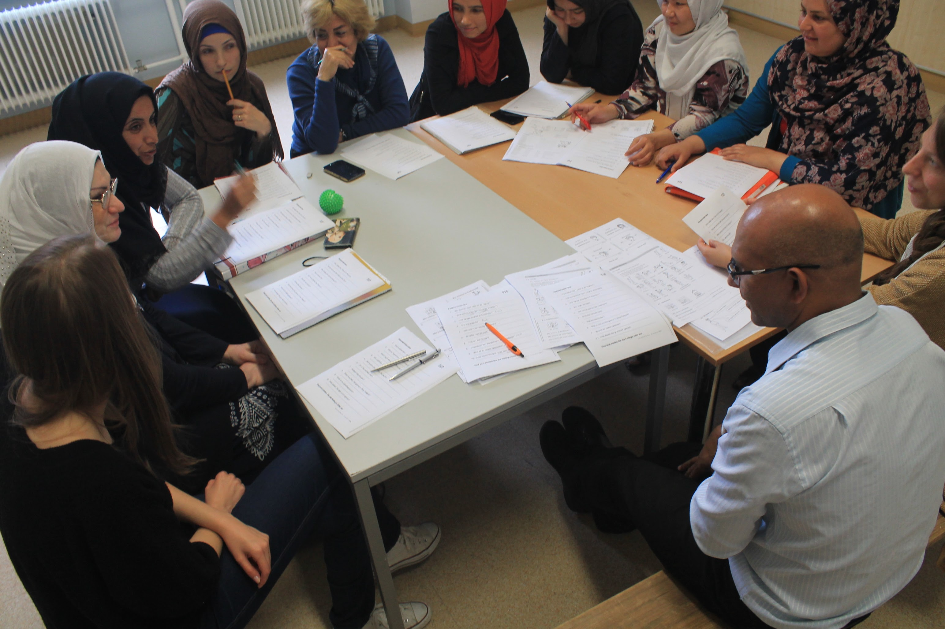 CADIS facilitates the refugees integration and the development of their skills and resilience