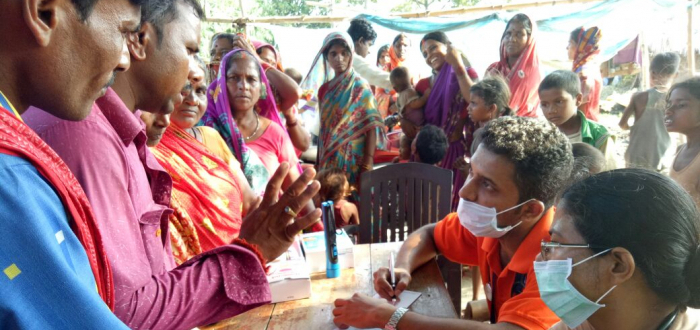 CTF INDIA REACHES TWO MOST AFFECTED DISTRICTS OF BIHAR
